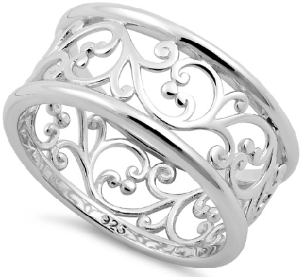 Sterling Silver Bands Ring