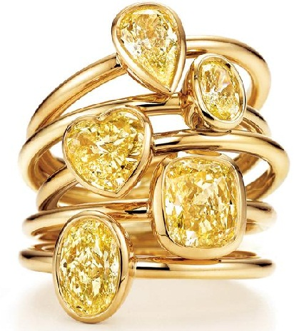 Stylish Big Gold Rings for Girls