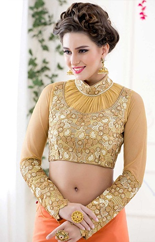 15 specific styles of collar neck blouse patterns catalogue