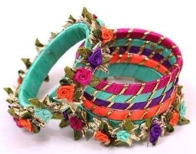 Stylish Colourful Bangles for Girls