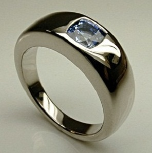 Stylish Sterling Silver Ring for Men