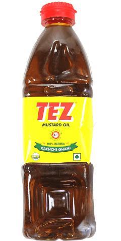 Tez Mustard Oil Brand