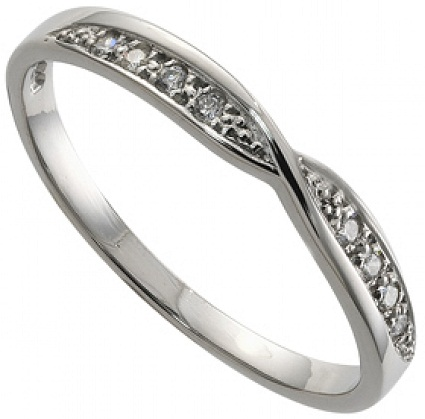 The Alternately Designed Platinum Wedding Ring