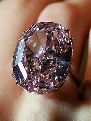 The Real Pink Panther Diamond Ring