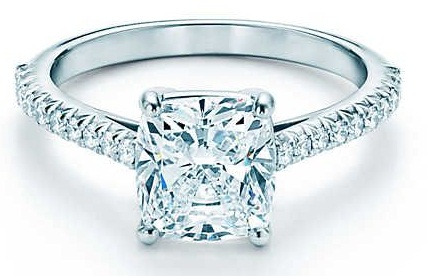 Tiffany Diamond Engagement Ring