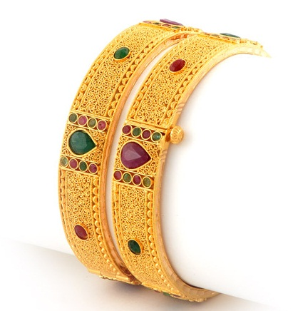 Traditional Gold Bangle in 20 Gram