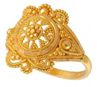 Traditional Gold Rings without Stones