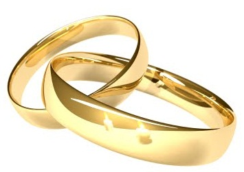 traditional gold wedding ring - Christian Wedding Rings