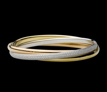 Twisted Single Bangle Design