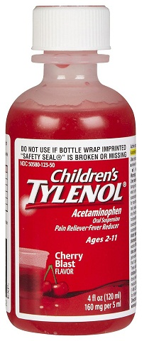 Tylenol Fever Syrup For Kids