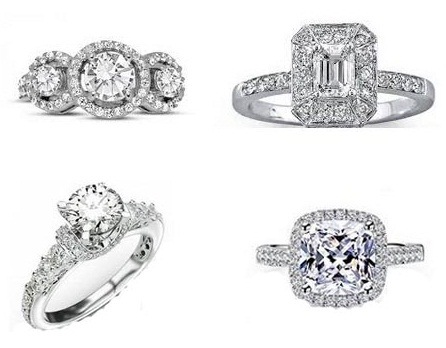 2 carat diamond rings