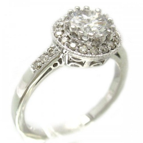 Vintage Diamond Ring For Engagement