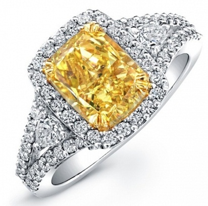 9 Stylish Designs in Yellow Diamond Rings for Proposal
