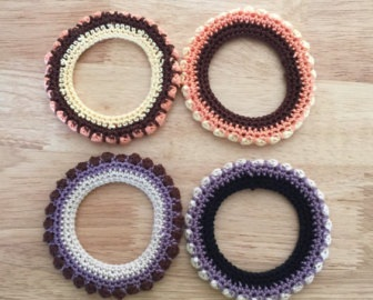 Woollen Crochet Thread Bangles