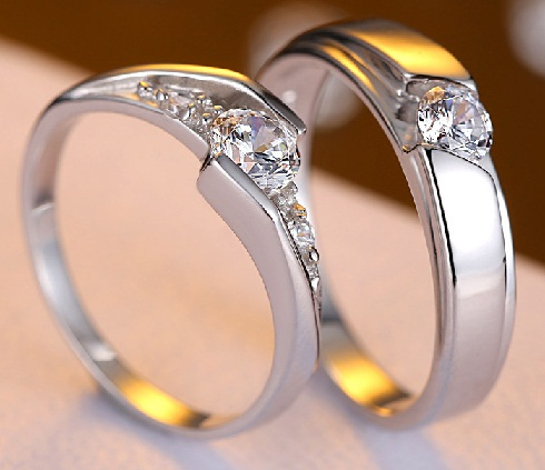 sterling silver engagement rings - Indian Wedding Rings
