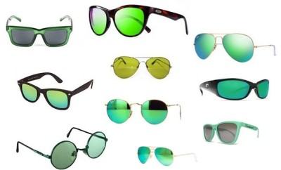 10 Classic Styles of Green Sunglasses for Men and Women