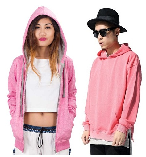 10 Softest Pink Sweatshirts with Different Neck Styles