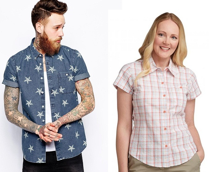 Short Sleeve Shirts for Men and Women