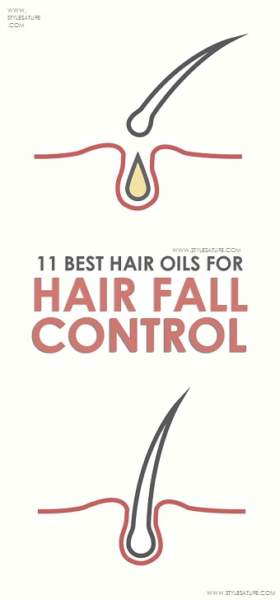 Hair oils for hair fall