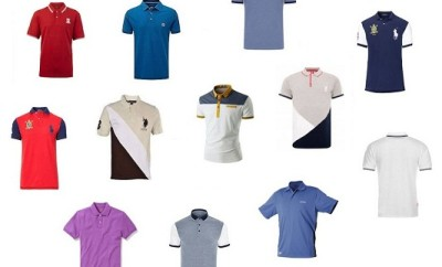 15 Classic Polo Shirts with Different Collars and Colours