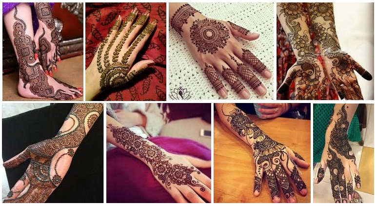 15 Latest Designer Mehandi Designs with Images