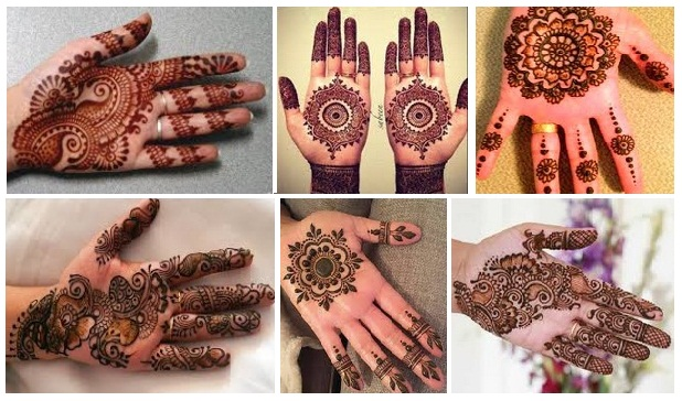 Mehndi Designs For Palm : Latest simple mehndi designs for palm styles at life
