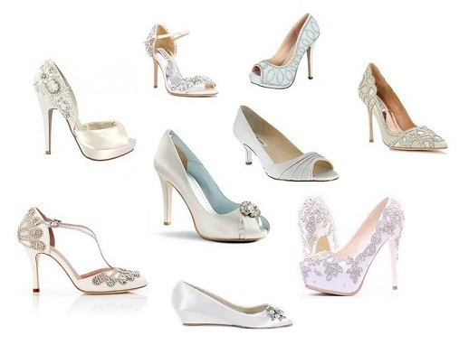 15 Trendy and Perfect Wedding Shoes for Brides 2017
