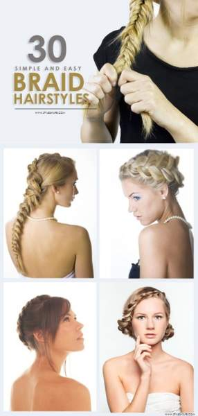 Easy Hairstyle For Salwar Suit : 30 simple & easy braid hairstyles with pictures styles at life