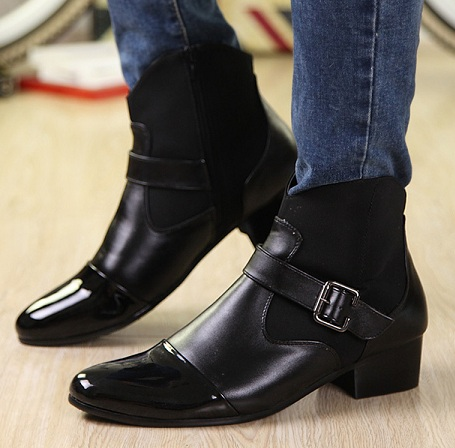 Ankle boots high top shoes
