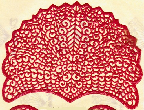 Arch Shape Mehndi Stencils