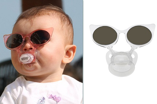 Baby Sunglasses with Pacifier