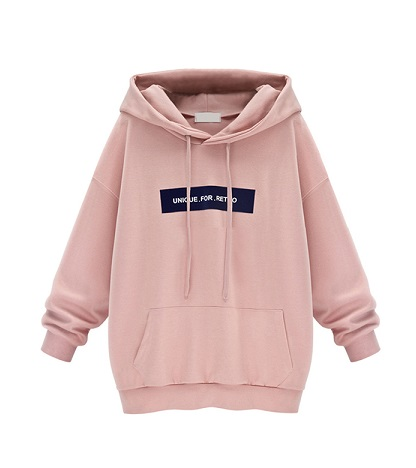 Baggy light pink Women's sweatshirt