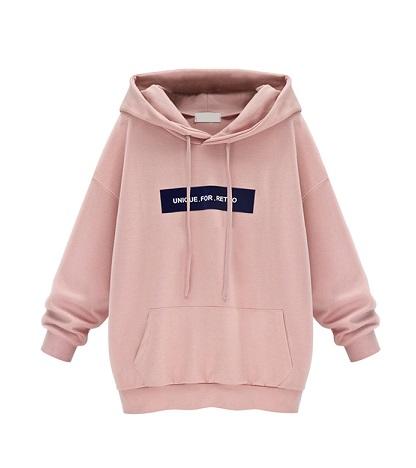 Baggy light pink Women's sweatshirt