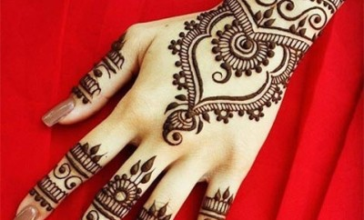 Bangle Style Khaleeji Mehndi Design