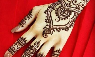 Bangle Style Khaleeji Mehndi Design