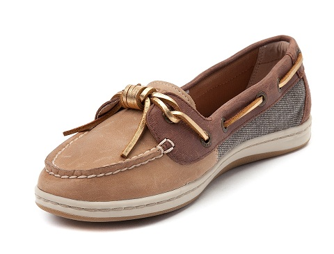 Barrel fish Boat Shoe For Women