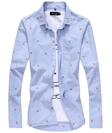 Bee Printed Designer Shirt