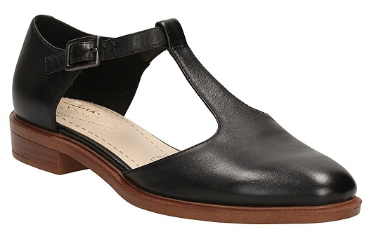Black Casual T style Shoes for Women