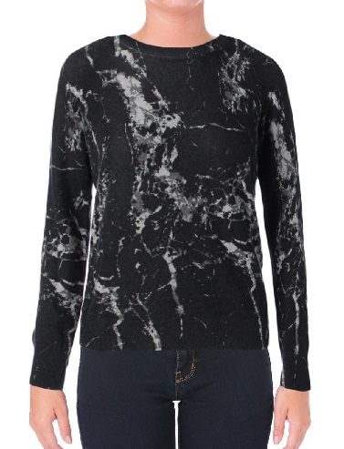 Black Marble Women´s Sweatshirt - Copy