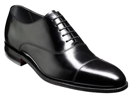 Black Oxford Shoes for Men