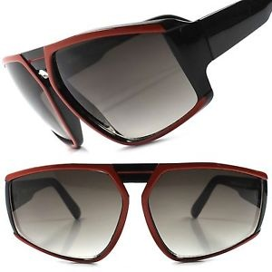 Black and Red Frame Funky Sunglasses for Men