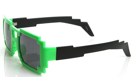 Block Style Funky Sunglasses for Boys