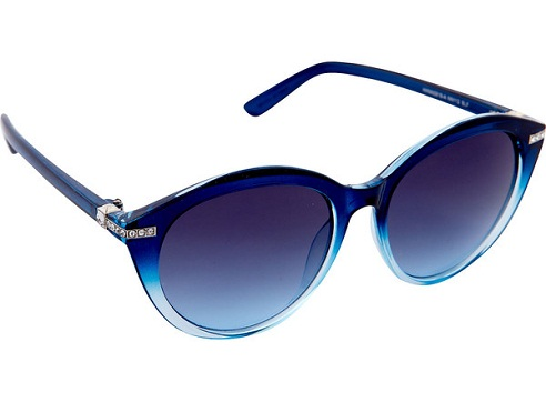 Blue Sunglasses with Stones