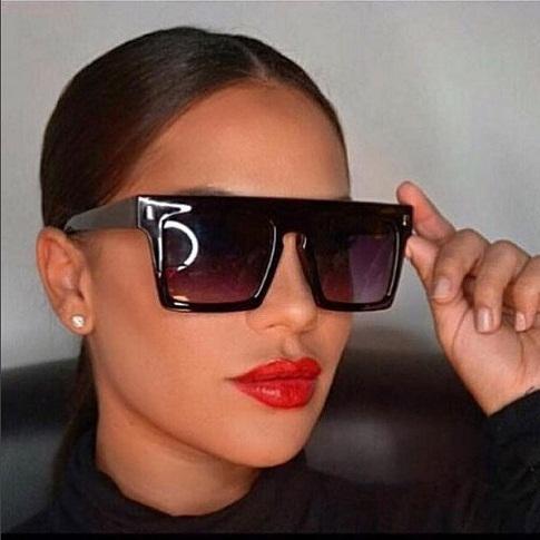 Brown Vintage Retro Sunglasses