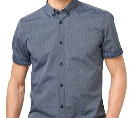 Button Down Collar Tailor Stitch Men's Shirt