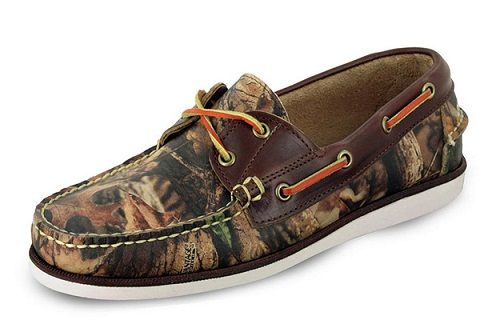 Camo Boat Shoe For Men