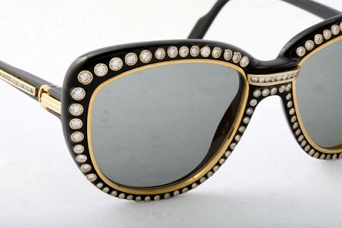 Cartier Paris Sunglasses in Gold