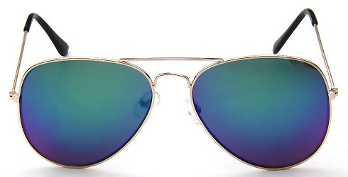 Casual Blue Sunglasses
