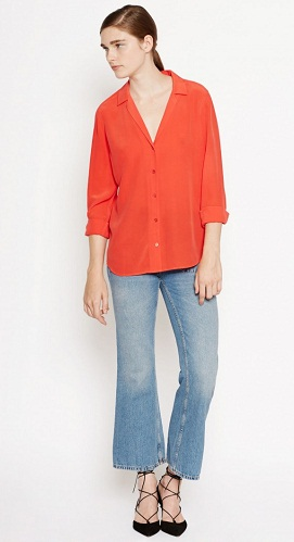 Casual Button up Shirts for Woman
