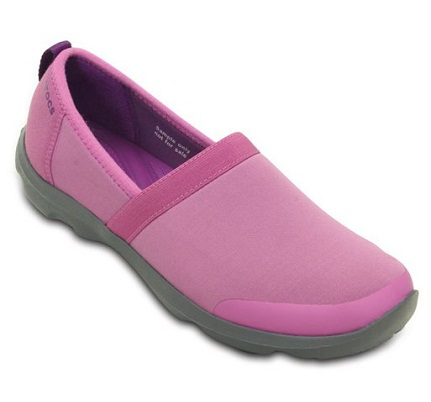 Casual Pink Slip on Sneakers for Girls